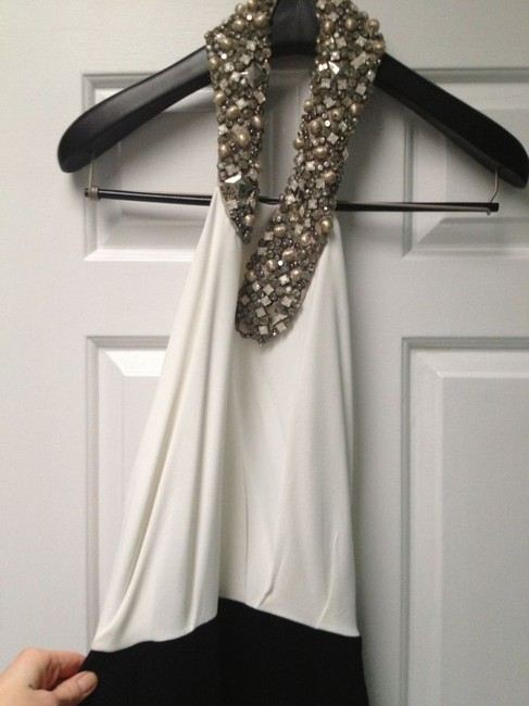 Victoria Beckham Stretch Crepe Jeweled Full-length Halter Gown Dress