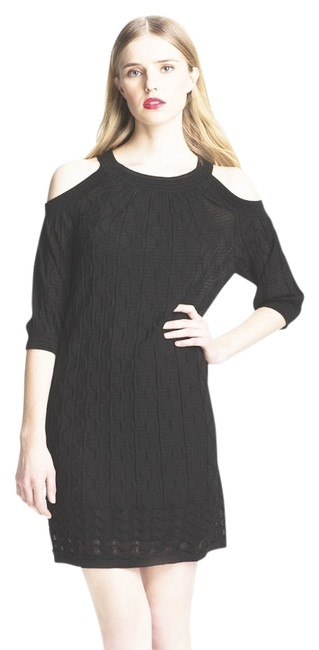 Preload https://item4.tradesy.com/images/m-missoni-black-knit-cotton-knee-length-night-out-dress-size-10-m-10562653-0-2.jpg?width=400&height=650