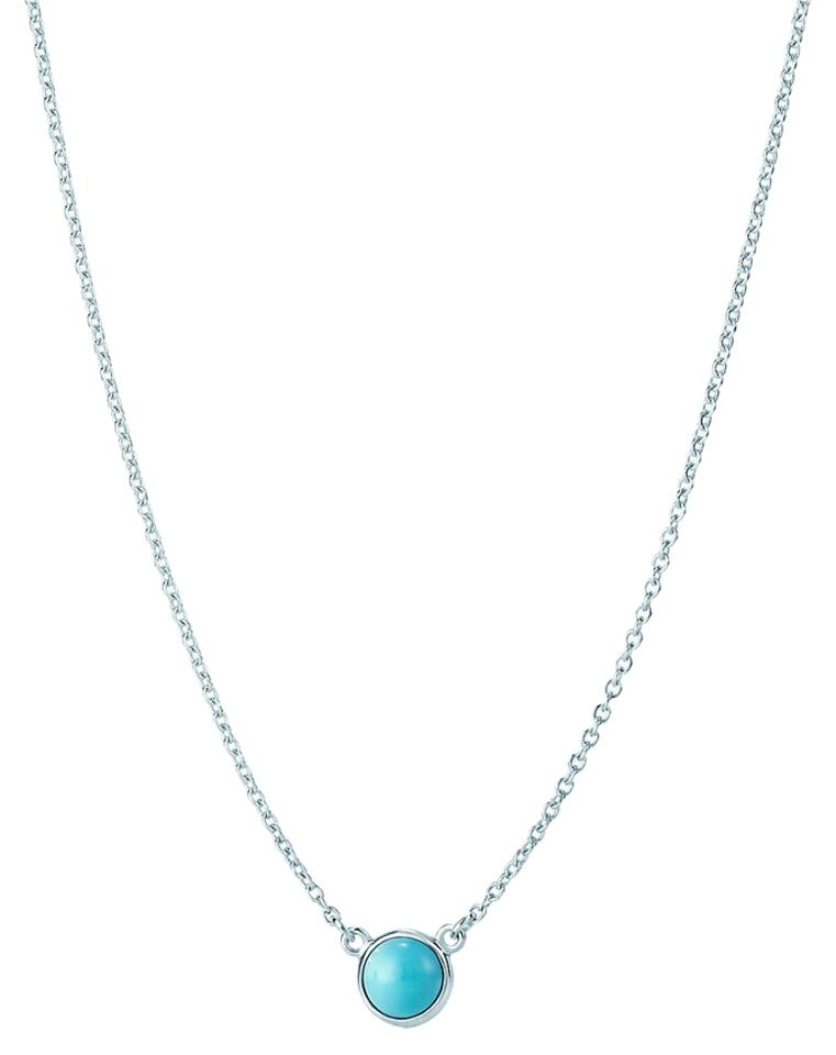 93314074d93 Tiffany   Co. Elsa Peretti Color by the Yard Turquoise Cabochon Pendant  Image 0 ...