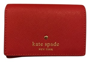 Kate Spade New Authentic Red Leather Kate Spade Wallet