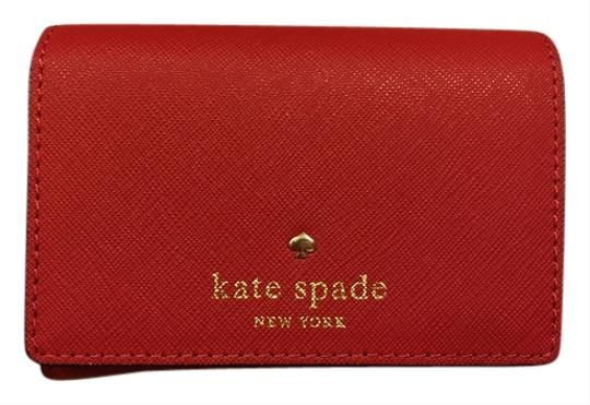 Preload https://img-static.tradesy.com/item/10562761/kate-spade-red-new-leather-wallet-0-1-540-540.jpg