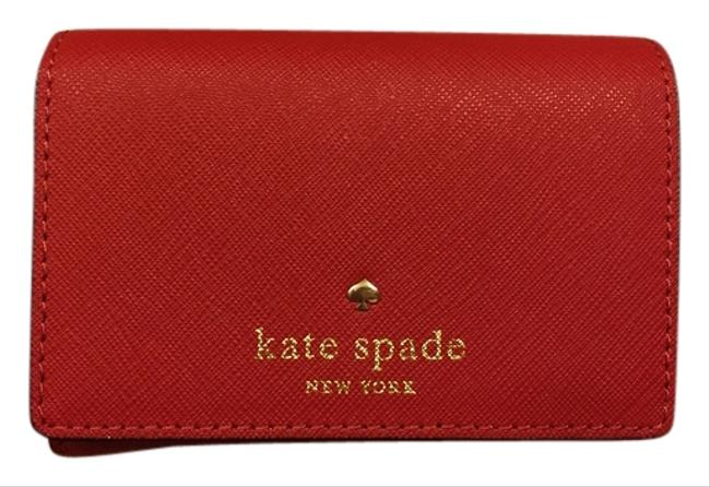 Kate Spade Red New Leather Wallet Image 1
