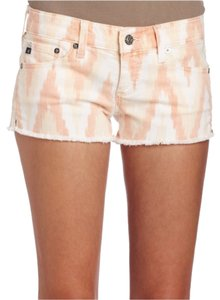 AG Adriano Goldschmied Cut Off Shorts Orange