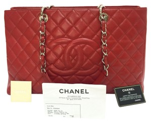 Chanel Xl Grand Grand Shopping Xl Shoulder Bag