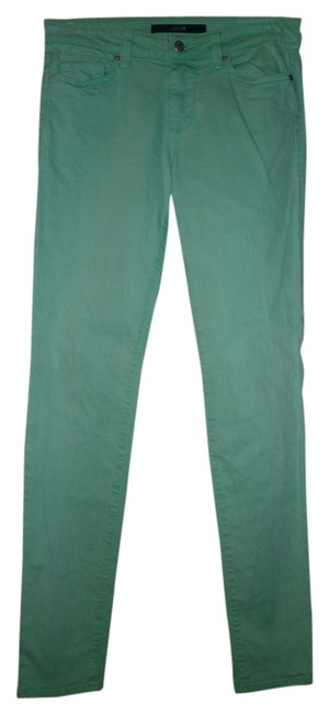 Item - Green Light Wash Ultra Slim Fit Skinny Jeans Size 27 (4, S)