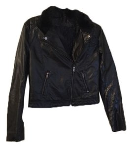 H&M Faux Leather Leather Jacket