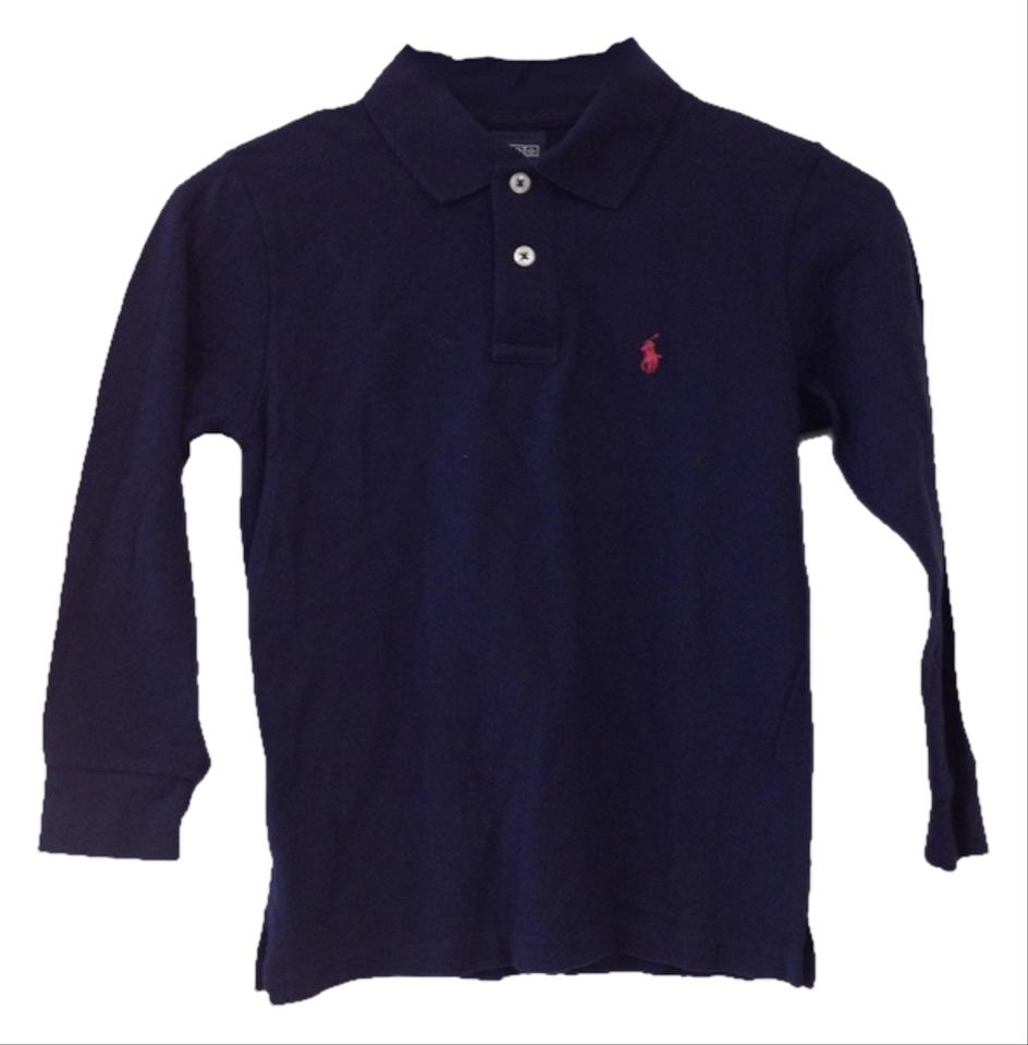 Polo Ralph Lauren Navy Blue By Childrens Long Sleeve Shirt Tradesy