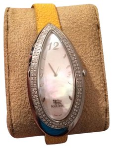 Other Ice Link Watch With Diamonds