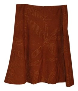 Christopher & Banks Skirt pumpkin