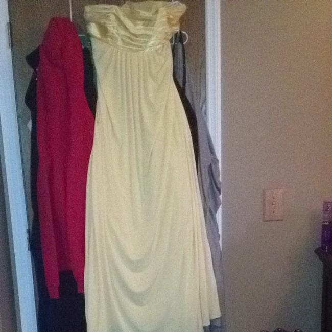 Item - Canary Yellow Bridesmaid/Mob Dress Size 14 (L)