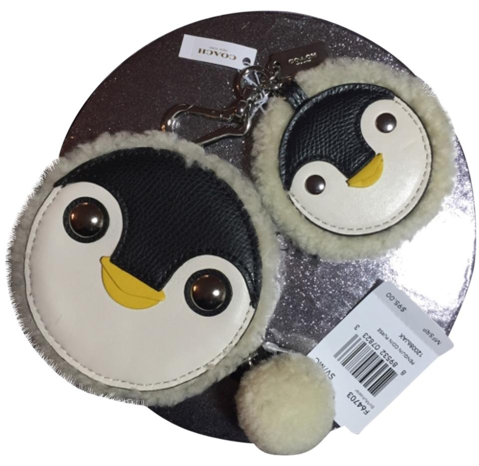 Coach Penguin Coin Purse And Keychain 68 Off Retail