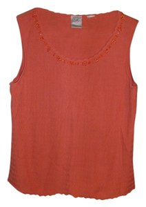 Emma James Top light orange
