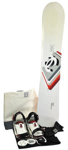 Chanel 100% Authentic CHANEL CC Logo Snowboard 157 Switzerland White Red Vintage S02215