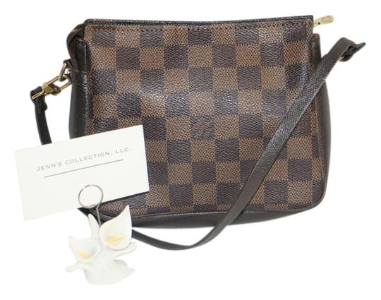 Louis Vuitton Authentic Louis Vuitton Damier Ebene Trousse Cosmetic Pouch