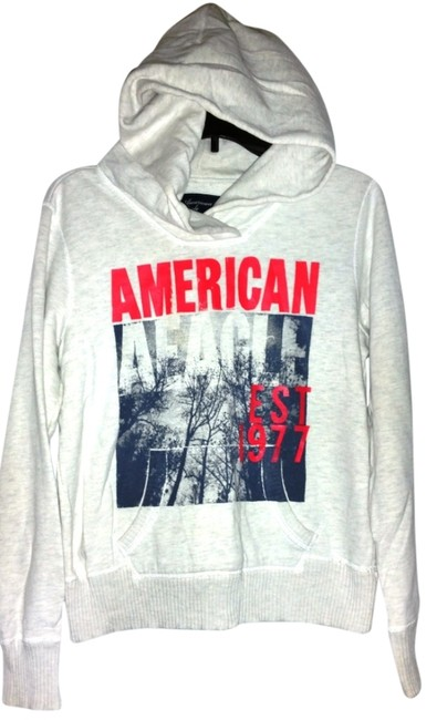 Preload https://item2.tradesy.com/images/american-eagle-outfitters-light-gray-hooded-sweatshirt-activewear-size-8-m-10566526-0-1.jpg?width=400&height=650