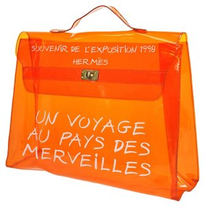 Hermès Orange Beach Bag