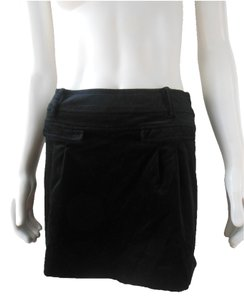 Pour la Femme Evening Occasion Lined Mini Skirt Black