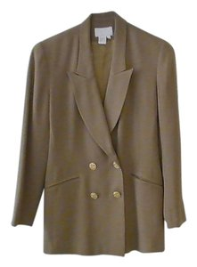 Cache Double breasted jacket with pencil skirt