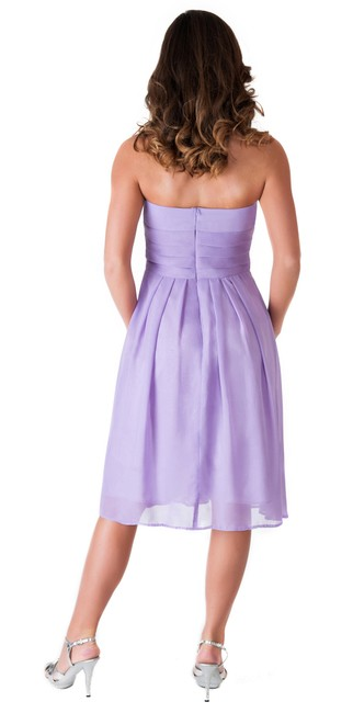 Other Strapless Pleated Dress Image 1