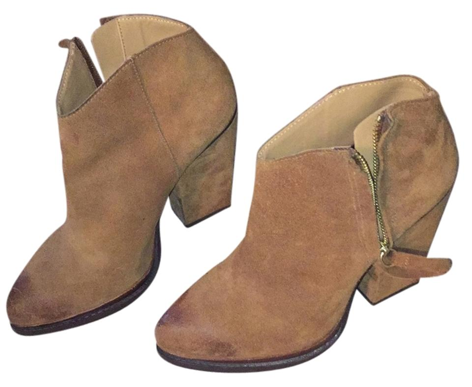 Ladies Zara Brown Suede Boots/Booties products quality products Boots/Booties b3a88e