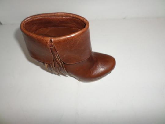 INC International Concepts Tobacco brown Boots