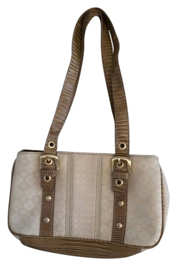 Preload https://img-static.tradesy.com/item/10568734/nine-west-canvas-beigebrown-shoulder-bag-0-1-540-540.jpg