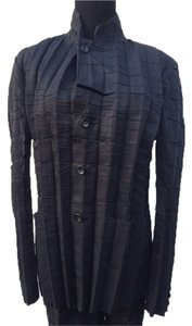 Issey Miyake Issey Miyake Pleats Please Two Piece Button Up Pant Shirt Set