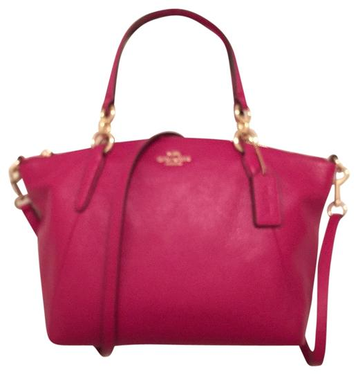 Preload https://item2.tradesy.com/images/coach-new-pink-gold-leather-satchel-10569136-0-1.jpg?width=440&height=440