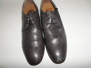 Saks Red Mens' Grey Leather Shoes