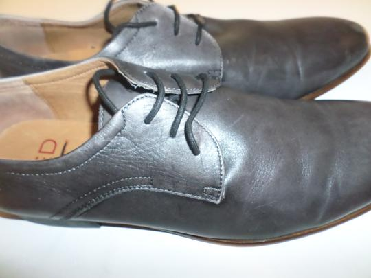 Grey Mens' Leather Shoes