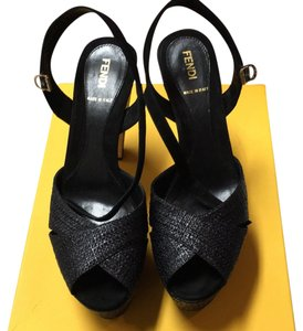 Fendi Blac Platforms