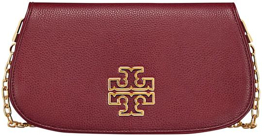 Tory Burch Red Agate Clutch