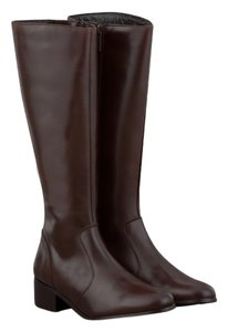 Ted&Muffy Narrow Shaft Narrow Leather brown Boots