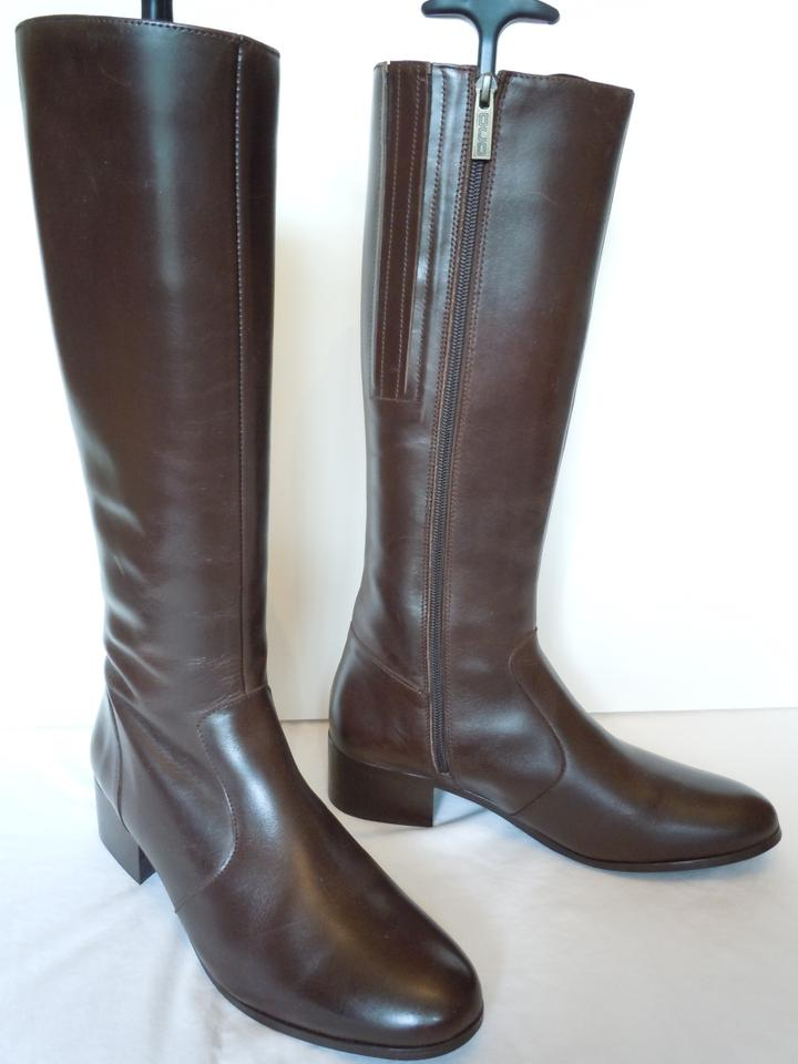 ted muffy brown extra narrow calf 32cm 12 5 duo boots booties size us 9 regular m b tradesy. Black Bedroom Furniture Sets. Home Design Ideas