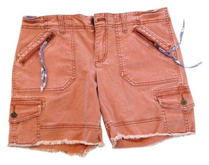 Free People Denim Shorts Paprika