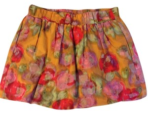 J.Crew Skirt Pink. Red. Orange. Green.