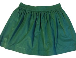 Zara Mini Skirt Emerald Green