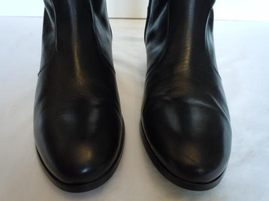 Duo Boots Narrow Shaft Narrow Leather Skinny black Boots Image 6