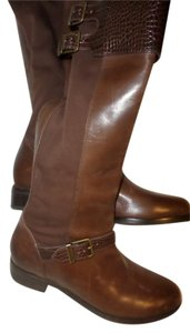 Cole Haan Tall Leather Tall New Italian Brown Boots