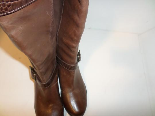 Cole Haan Tall Leather Tall New Italian Brown Boots Image 2