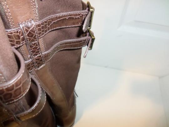 Cole Haan Tall Leather Tall New Italian Brown Boots Image 3