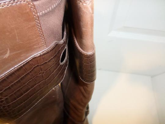 Cole Haan Tall Leather Tall New Italian Brown Boots Image 5