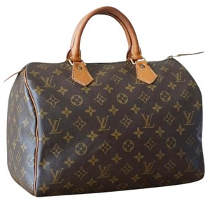Louis Vuitton 30 Monogram Vintage Satchel