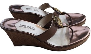 Michael Kors Wedge Bronze Wedges