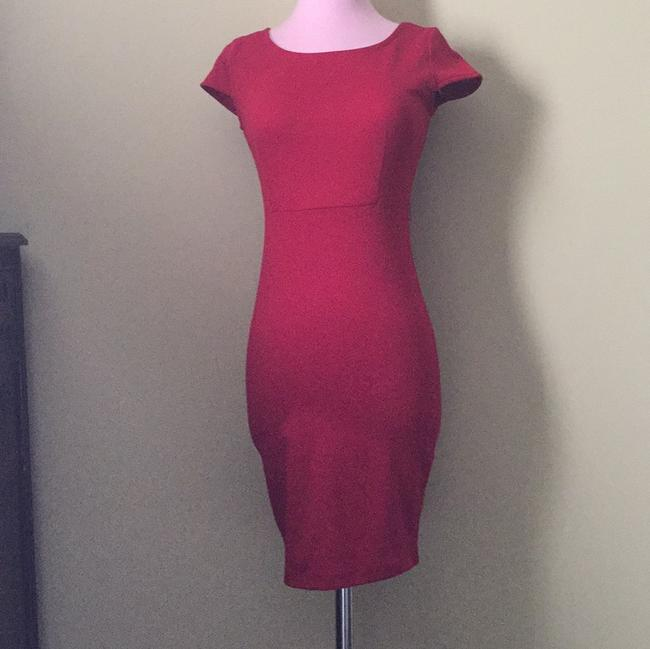 Forever 21 short dress Red on Tradesy Image 2