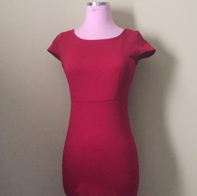 Forever 21 short dress Red on Tradesy Image 4