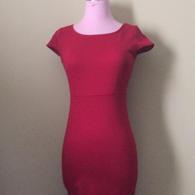 Forever 21 short dress Red on Tradesy Image 5