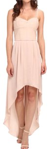 BCBGMAXAZRIA Gown Hi Lo Chic Dress