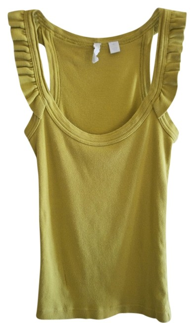 Eloise Top Mustard Lime XS