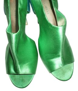 Nine West green and blue Sandals